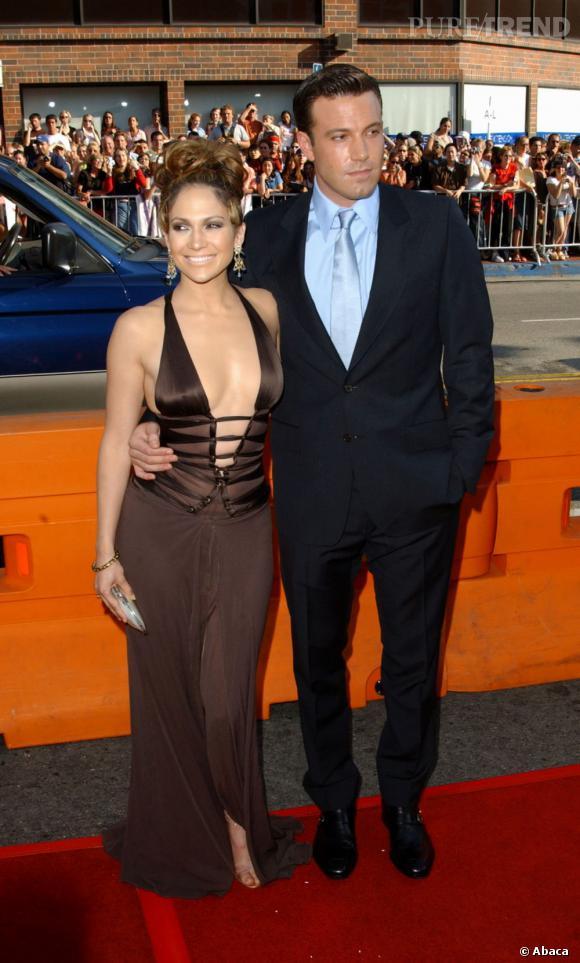 J-Lo et Ben Affleck : rencontrés sur un tournage en 2001, le couple s'est finalement séparé en 2004 juste avant leur mariage.. Oups.