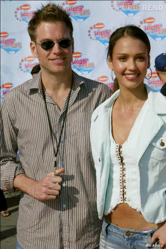 """Jessica Alba et Michael Weatherly : rencontre sur le tournage de la série """"Dark Angel"""" et trois années de bonheur plus tard c'est la rupture en 2003."""