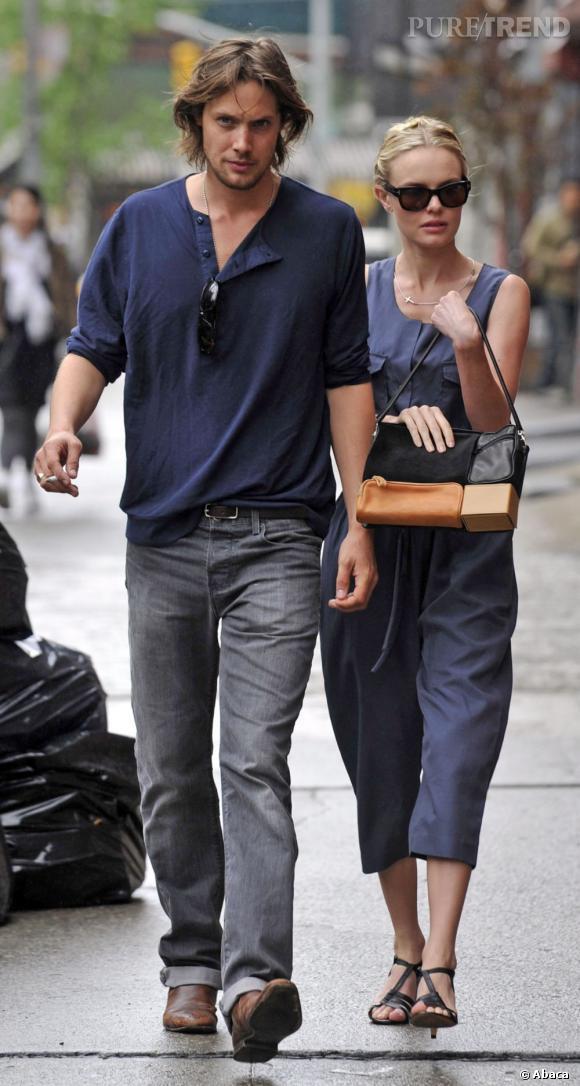 Kate Bosworth et James Rousseau : pour se consoler de sa rupture avec Orlando Bloom, l'actrice n'a pas choisi n'importe qui.