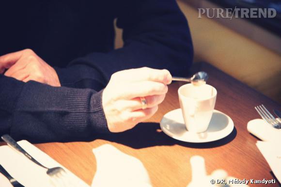 Petit déjeuner avec Patrick Berger, chez Claus.