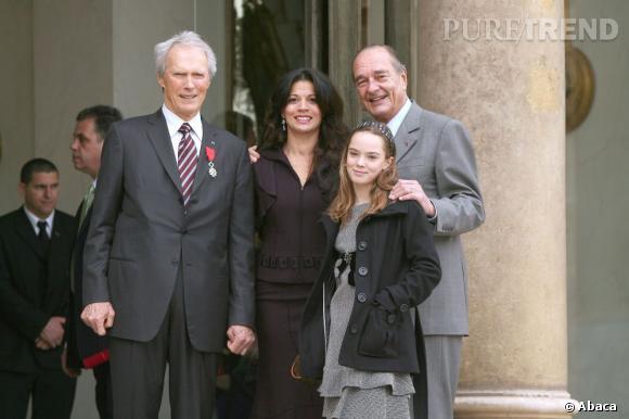 Clint Eastwood devient Chevalier de la Légion d'honneur en 2007.