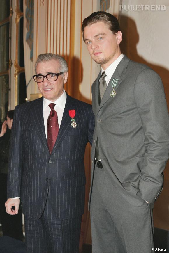 Martin Scorcese et Leonardo DiCaprio récompensés en duo. Le réalisateur devient Chevalier de la Légion d'Honneur tandis que l'acteur devient Chevalier de l'Ordre des Arts et des Lettres.