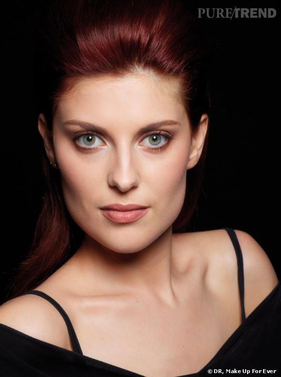 Emilie, 23 ans, gagnante du casting Make Up For Ever.