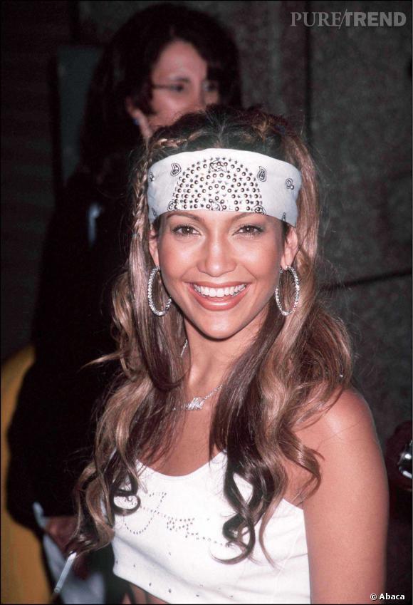 Lorsqu'elle fréquente P. Diddy dans les années 2000, sa coiffure est originale. Bandana de gangsta, couettes, tresses. Un brin too much.