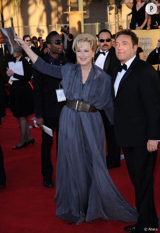 Meryl streep for Claquette jean dujardin