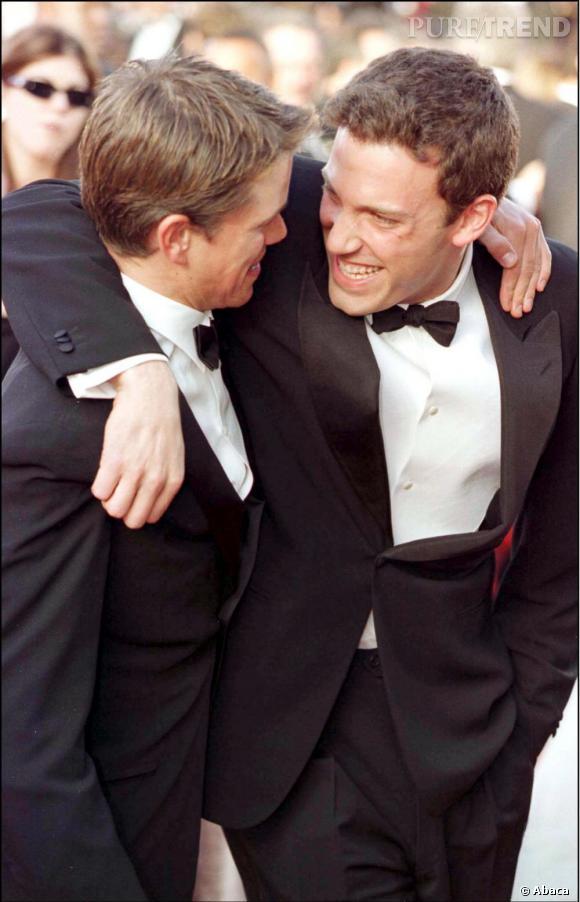 Matt Damon et Ben Affleck, des copains d'enfance.
