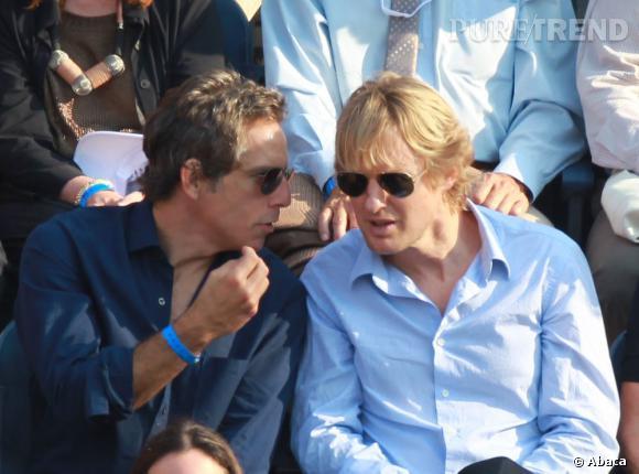 """Ben Stiller et Owen Wilson font parti du """"Frat Pack"""" et tournent quasiment toujours ensemble. Forcement, ça crée des liens."""