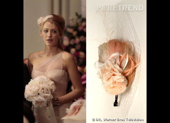 Le must have de Blake Lively pour assister au mariage royal de sa mailleure amie : un bibi made in France de Johanna Braitbart.