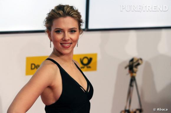Scarlett Johansson aux Golden Camera Awards 2012 à Berlin.