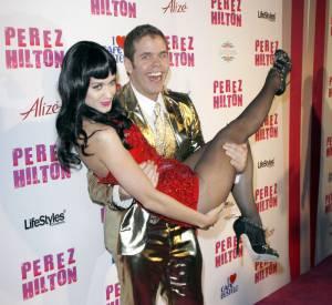 Perez Hilton et sa grande copine : Katy Perry.