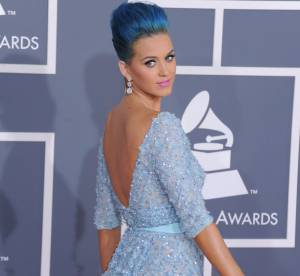 Grammys 2012 : Katy Perry, blue princess