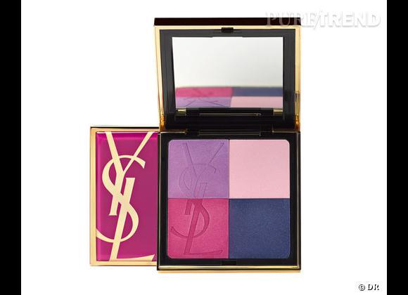 Vinyl Candy Palette d'Yves Saint Laurent, 48 €.