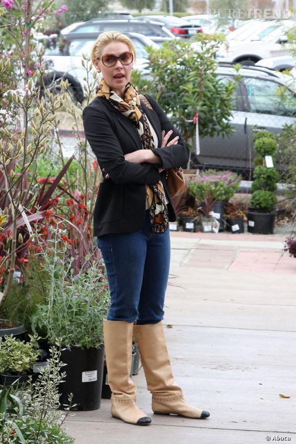 Katherine Heigl ou la pose qui tasse.