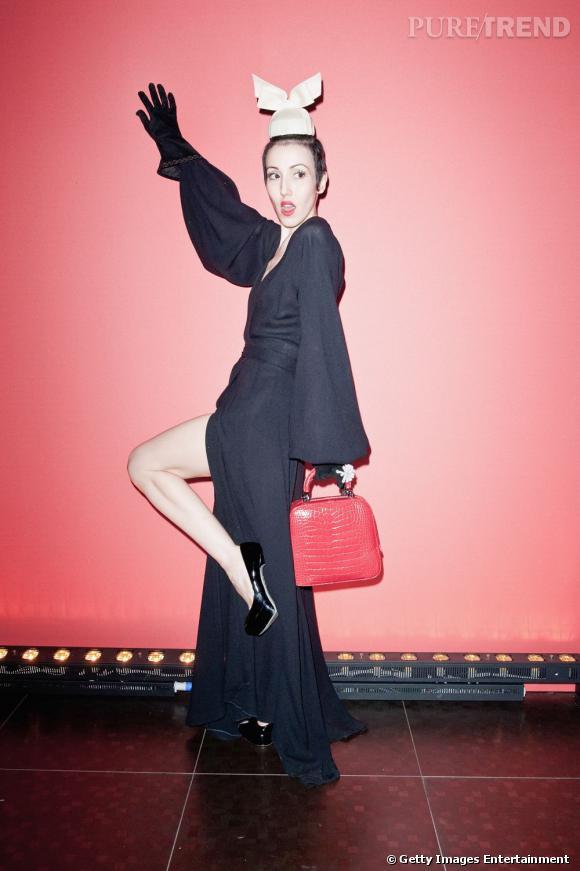 Michelle Harper à l'after-party du défilé Givenchy à Paris.