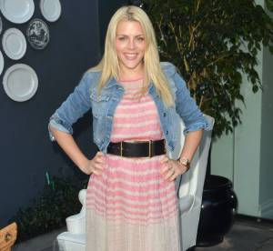 Busy Philipps, attention aux rayures horizontales !