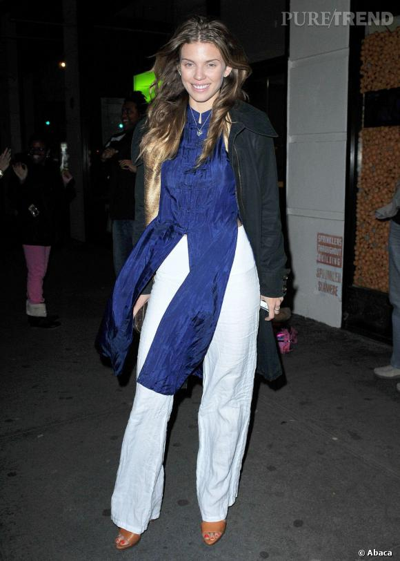 AnnaLynne McCord arrive au Spin à Chelsea, New York.