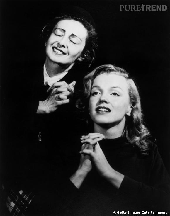 En 1949, Marilyn Monroe s'intéresse à sa coach, Natasha Lytess.
