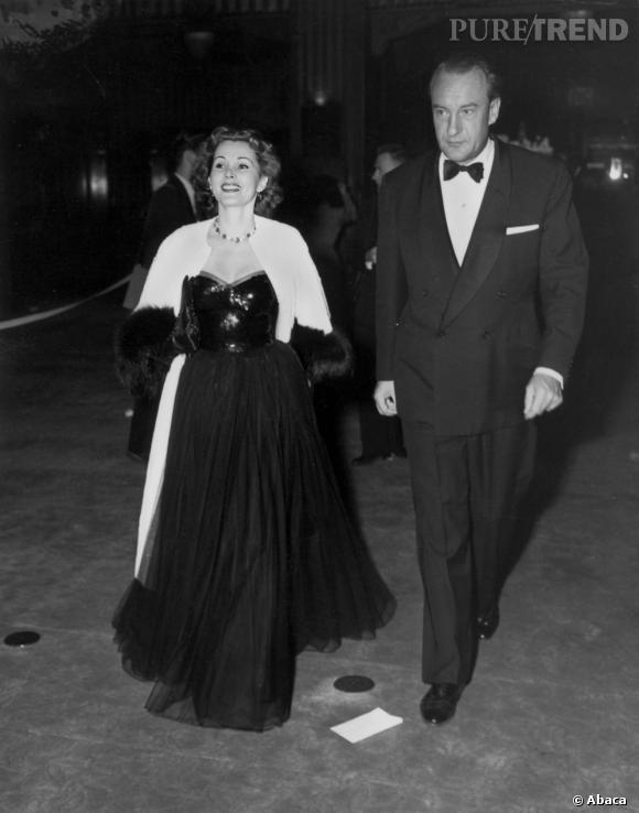 En 1950 c'est avec Paul Sanders que la belle blonde flirte.
