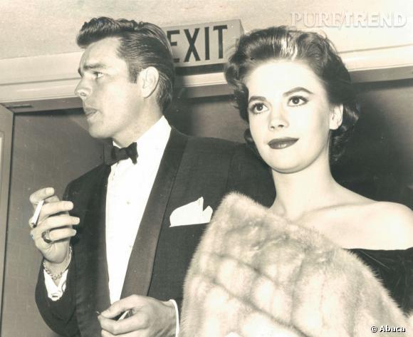 Robert Wagner ici au côté de son épouse (par deux fois !) Natalie Wood a également succombé aux charmes de Marilyn.