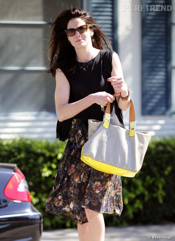 Michelle Monaghan dans les rues de Los Angeles.