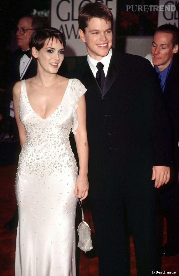 Matt Damon et Winona Ryder sont restés ensemble de 1997 à 2000.