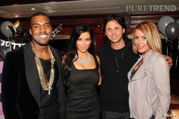 Kim Kardashian et Kanye West, le nouveau couple star qui fait parler de lui.