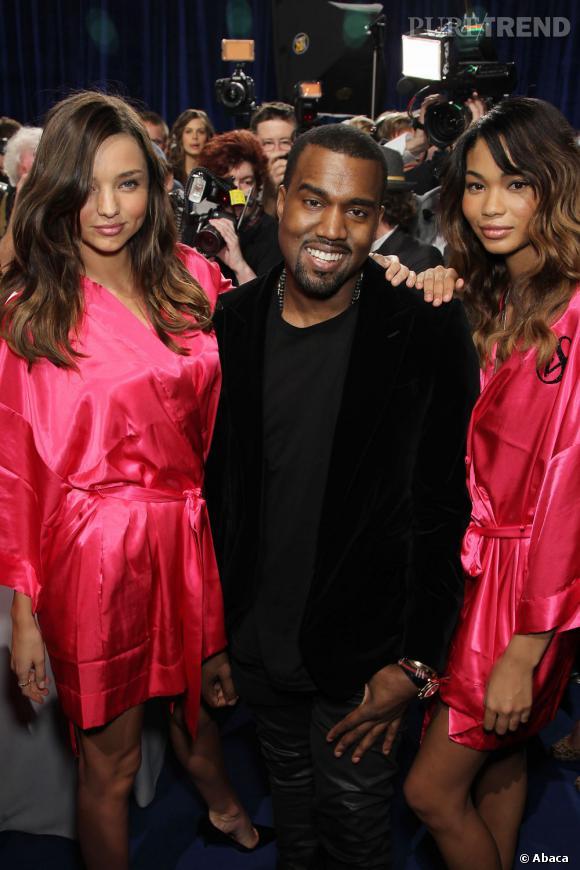 Kanye West, un homme à femmes toujours bien entouré.