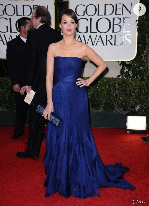 Bérénice Bejo aux Golden Globes 2012.