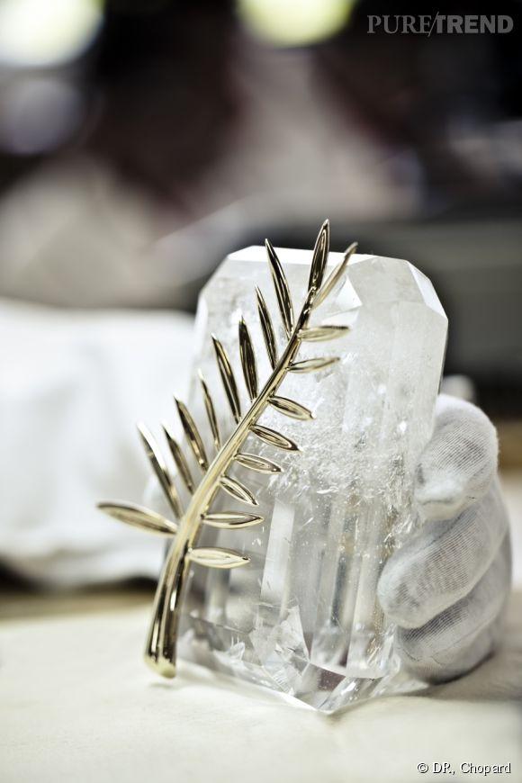 La Palme d'Or est fin prête à quitter les ateliers suisses de Chopard, direction la Croisette !