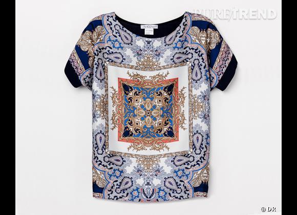 e2ba356169e8 Tendance imprimé foulard   le bon shopping Top Jus d Orange, 69 €