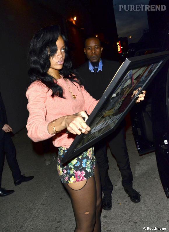 Rihanna n'a décidément pas de limite.