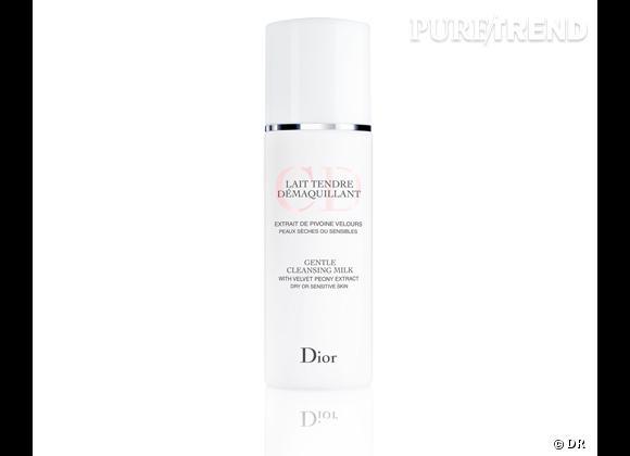 Lait Tendre démaquillant, Dior, 26,50 €.