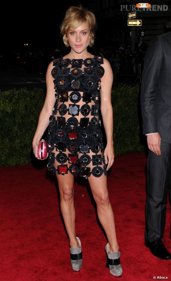 Chloë Sevigny au MET Ball 2012 à New York.