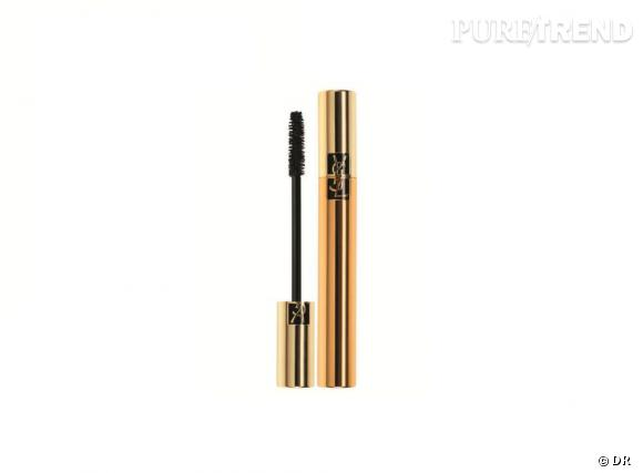 Dans mon vanity spécial Cannes : Mascara Volume Effet Faux-Cils, Yves Saint Laurent, 28,50 euros