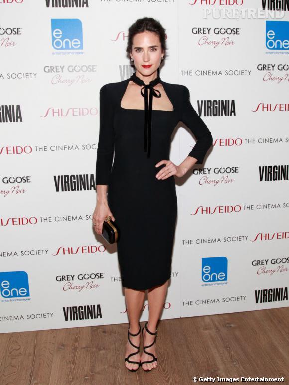 """Jennifer Connelly à la projection du film """"Virginia"""" à New York le 14 mai."""
