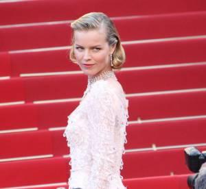 Cannes 2012 : Eva Herzigova, sexy dentelle