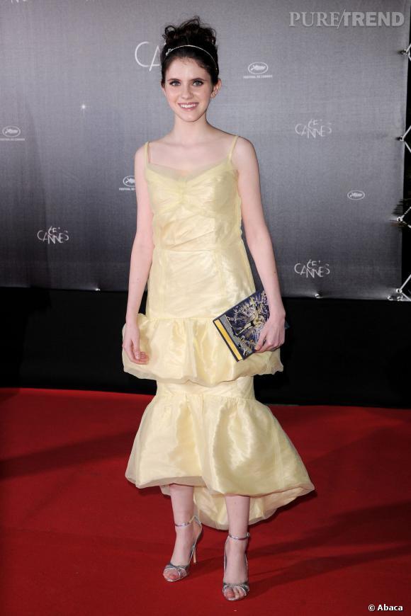 Kara Hayward au 65ème festival de Cannes.