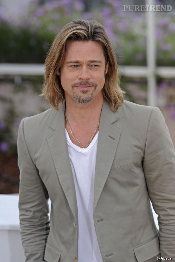 Résultats de recherche d'images pour «brad pitt cheveux longs»