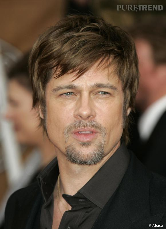 Très En 2008, c'est le faux pas. Brad Pitt teint ses cheveux en un  DY69