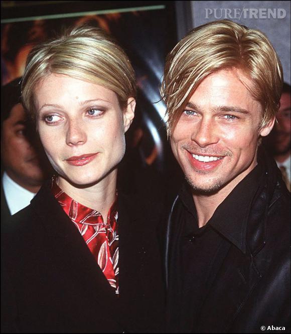 Cette même année, en couple avec Gwyneth Paltrow, Brad Pitt imite sa coupe avec une longue mèche.