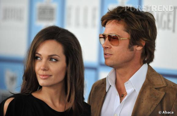 Retour dans les 70's pour la coiffure de Brad Pitt début 2008.