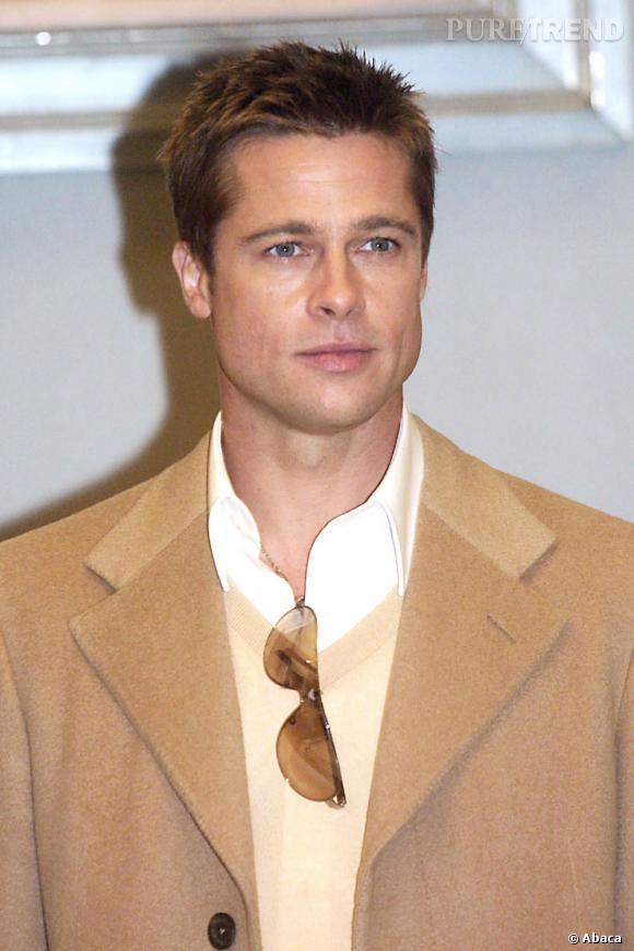 Quand ils repoussent, Brad Pitt opte pour une couleur miel un peu plus foncée.