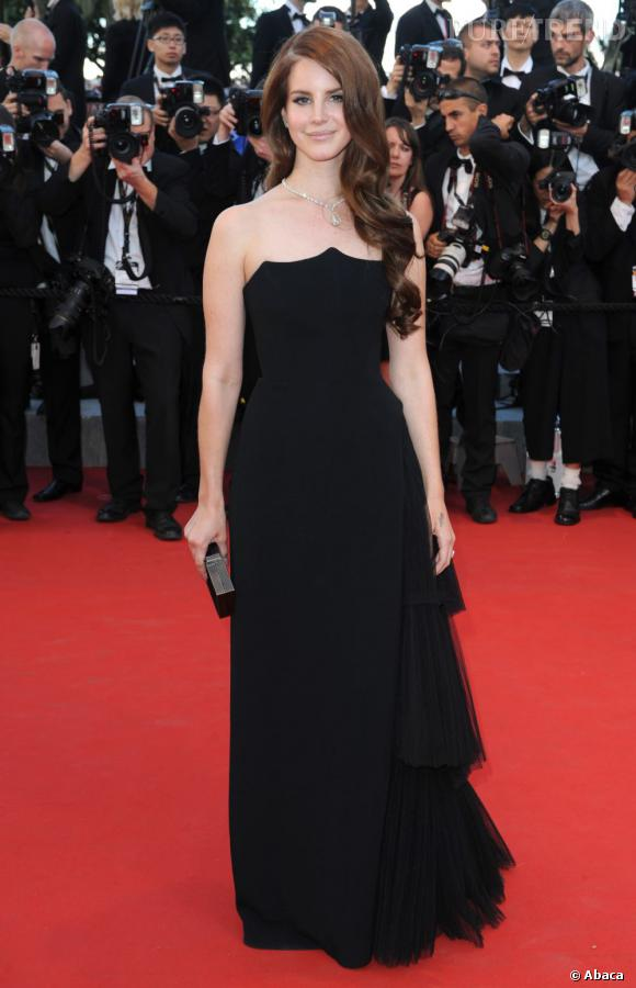 Sur le red carpet :  Lana Del Rey.
