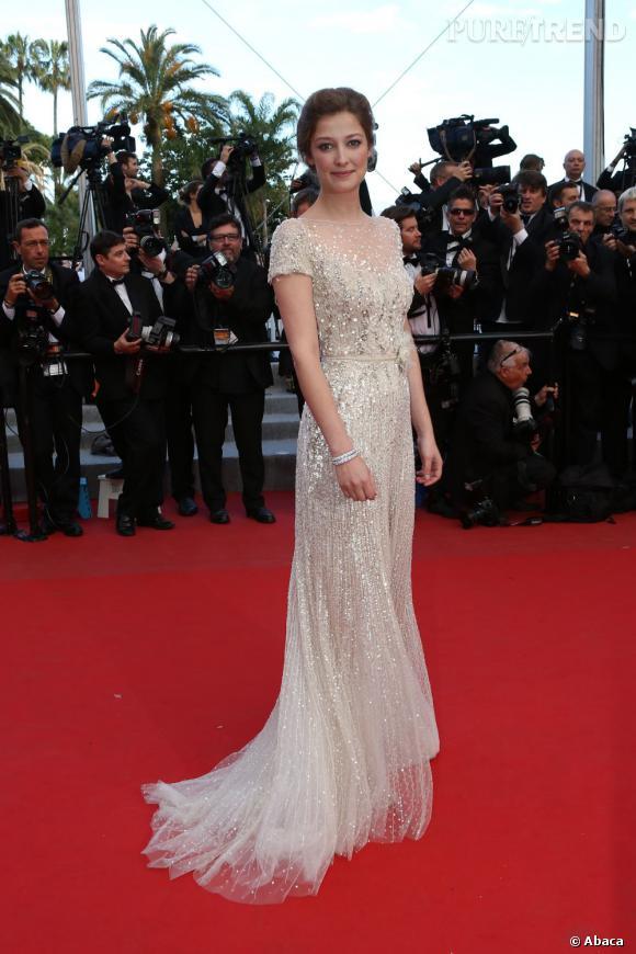 Sur le red carpet :  Alexandra Maria Lara.