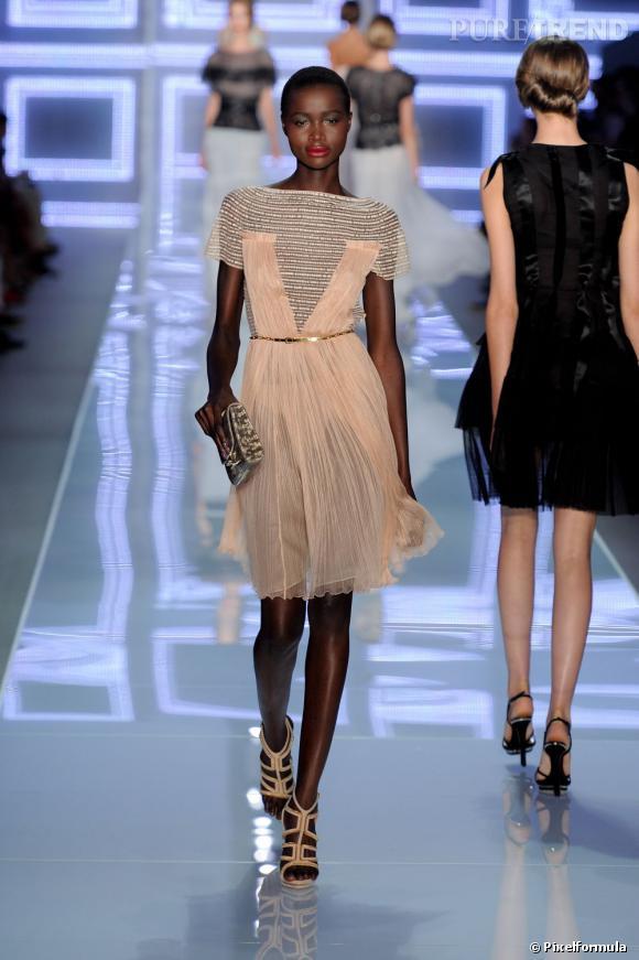 Sur le podium :  Christian Dior Printemps-Été 2012.