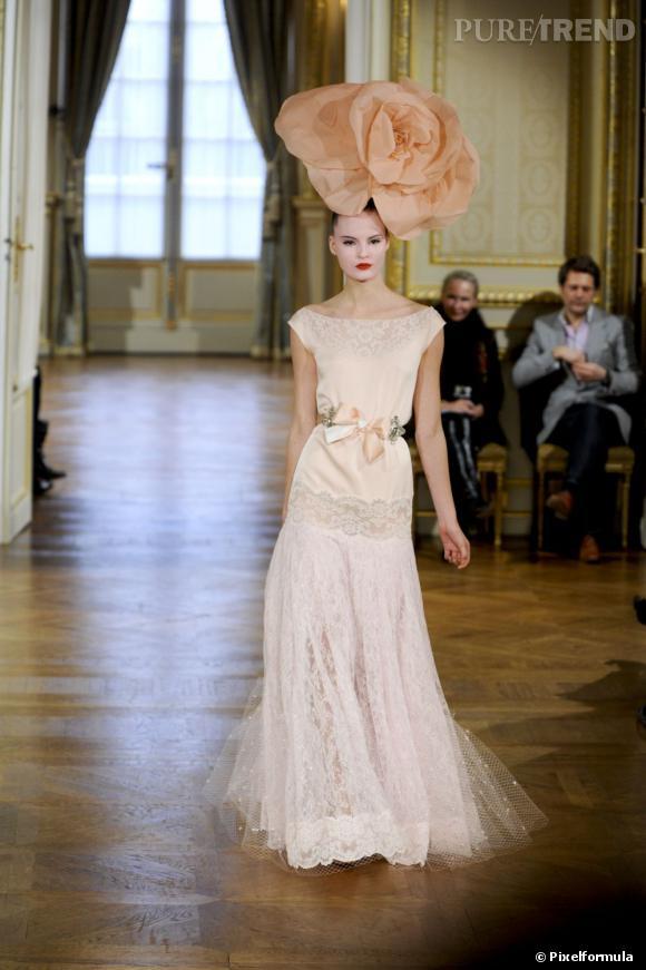Sur le podium :  Alexis Mabille Haute Couture Printemps-Été 2012.