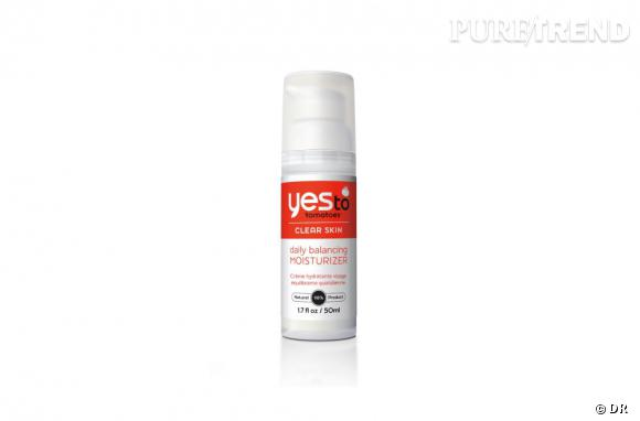 Dans mon vanity bio :  Crème hydratante visage équilibrante Yes To Carrots, 16,90 €, en vente en exclusivité chez Sephora et sur www.sephora.fr