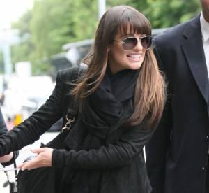 Lea Michele, haut les cuissardes