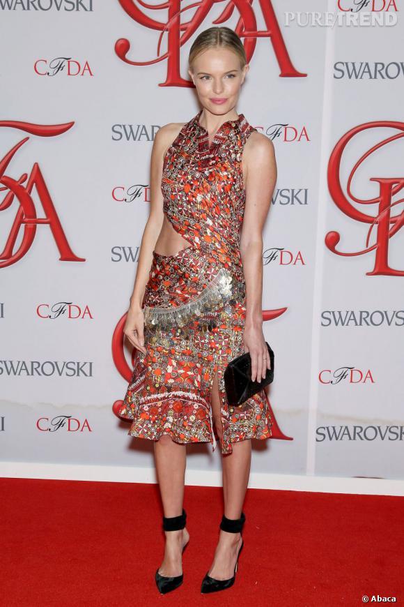 """Une robe mi-longue   Altuzarra  """"Laal"""" pour Kate Bosworth..."""