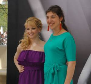 Monte-Carlo 2012 : Big Bang Theory, l'interview de Mayim Bialik et Melissa Rauch